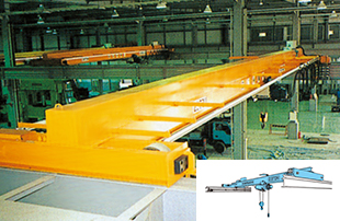Top running overhead crane (single)